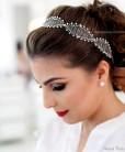 Tiara de noiva rendinha