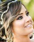Tiara de noiva de perolas com cristais