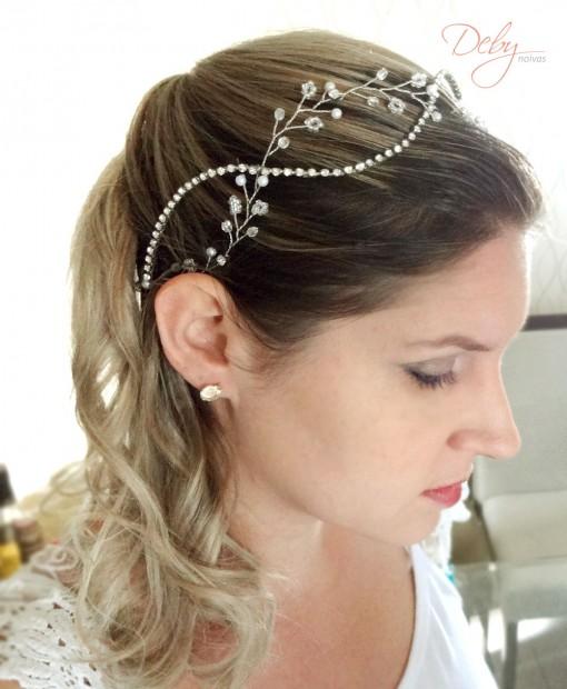 Tiara de noiva boho